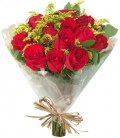 Buquê 20 Rosas plastico