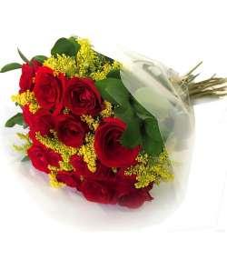 Buquê 15 Rosas