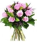 12 Rosas Cor de Rosa