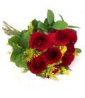 Buquê de 9 Rosas