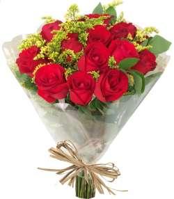 Buquê 18 Rosas